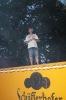 Zelt schmücken, Platz reinigen 2014